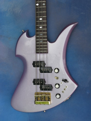 1980 B.C. Rich Mockingbird Bass