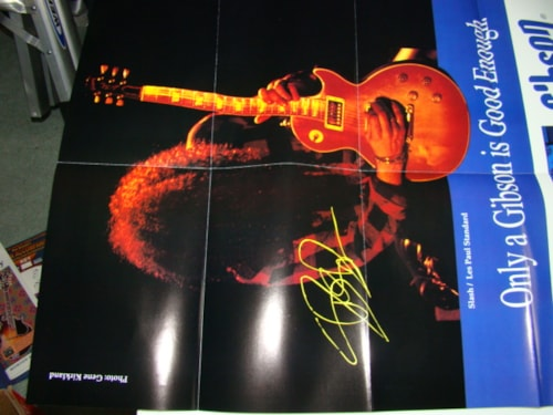 1993 Gibson Les Paul Collection/Slash Poster