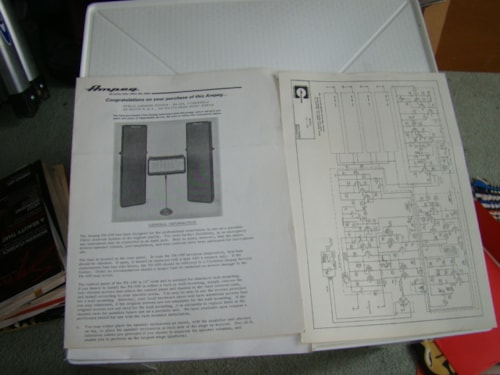 1971 Ampeg PA-100 Manual/Schematic