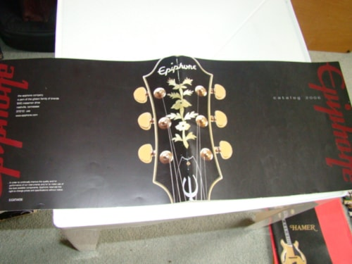 2006 Epiphone Catalogs:89/94/95/97/98/01/02/03/04/06/07/10/11-12/35 each