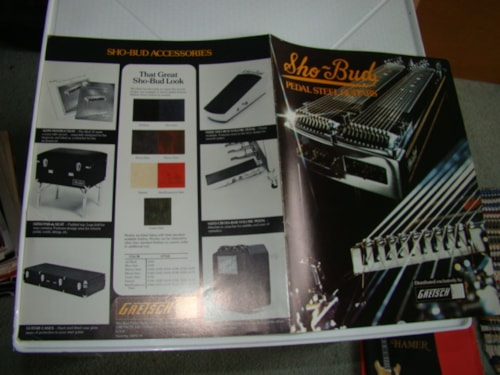 1978 Gretsch Show Bud Pedal Steel Catalog