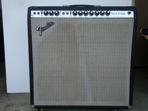 1974 Fender® Super Reverb/Tube Rectifier