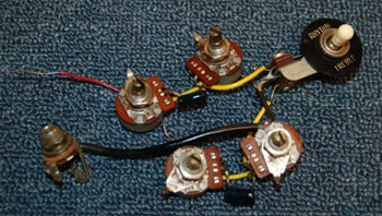 1973 Gibson 1973 Gibson SG Wiring Harness