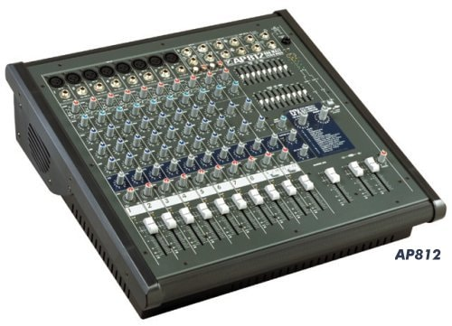 Yorkville 12 Channel Powered Mixer #AP812