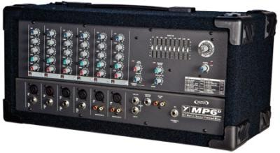 Yorkville 6 Channel Powered Mixer With Digital Effects #MP6D2