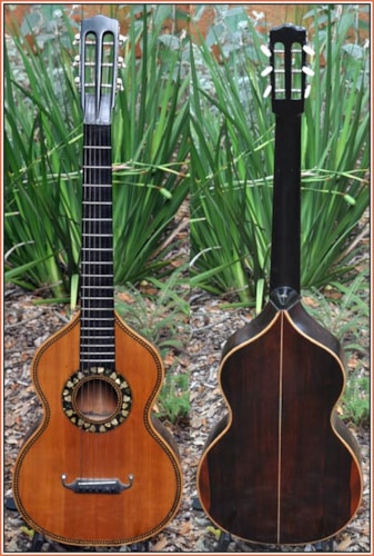 ~1860 Lacote Early French Parlour Guitar