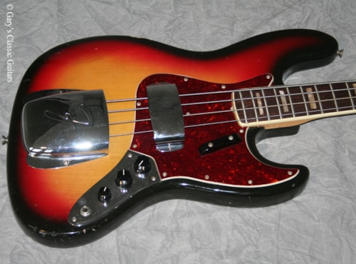 1972 Fender Jazz Bass (#FEB0243)