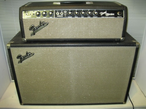 ~1967 Fender Bandmaster head and cab