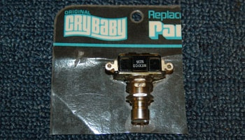 1980 Crybaby Effects pedal replacement switch