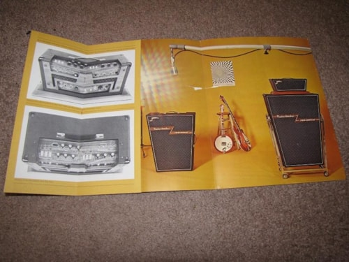 1968 Rickenbacker 1968 CATALOGUE