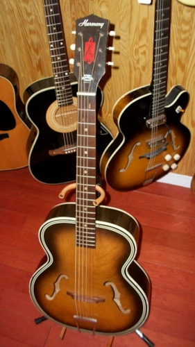 ~1959 Harmony Broadway Archtop Acoustic