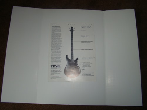 1986 Paul Reed Smith Bass Flyer