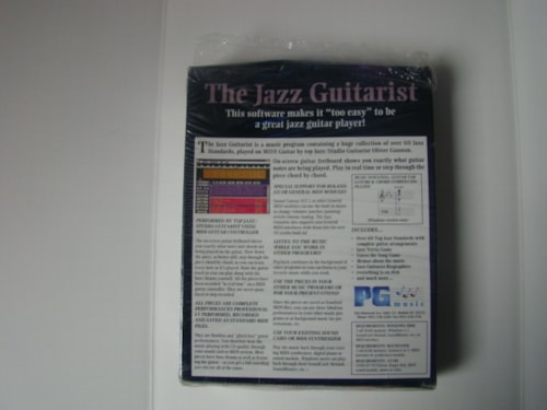 2000 Jazz Guitarist Instructional CD Rom