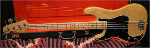1977 Fender® Precision Bass® 'Lefty'