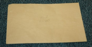 1950 Gisbon Tag Envelope