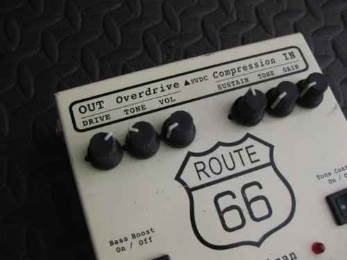 Visual Sound ROUTE 66 OVERDRIVE PEDAL