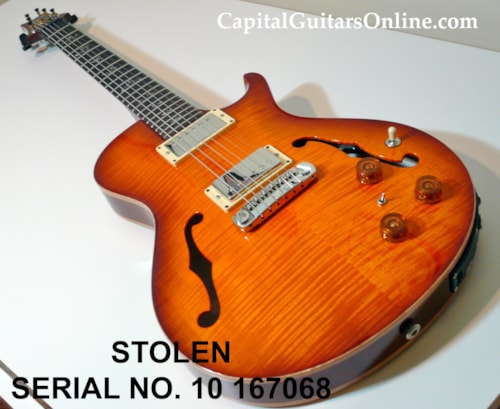 2010 Paul Reed Smith PRS SCHB II #10 167068 STOLEN $500 REWARD