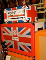 2011 Orange Rockerverb 50 Mk II and 2x12 Cab.