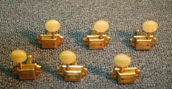 1955 Kluson No line single gold tuners