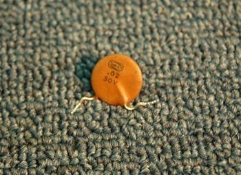 1965 Fender® Ceramic Capacitors
