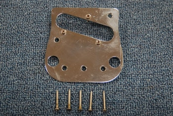 1968 Fender® Pickup and Bridge Plate with Screws