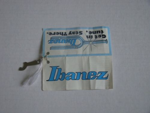 1978 Ibanez Tuning Key and Tag