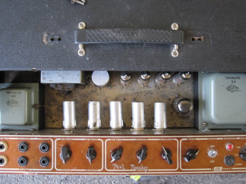 1963 VOX JMI AC30 AMP COPPER PANEL AMPLIFIER