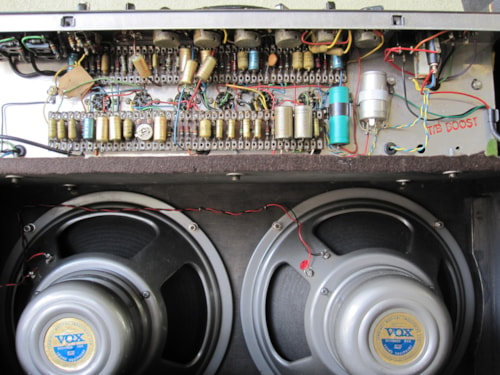1964 VOX JMI AC30 AMP TOP BOOST AMPLIFIER