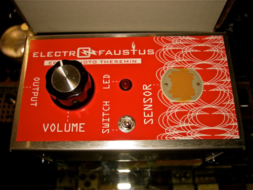 2011 Electro Faustus EF102 Photo Theramin