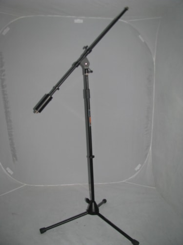 Back Line Microphone stand with Boom Arm
