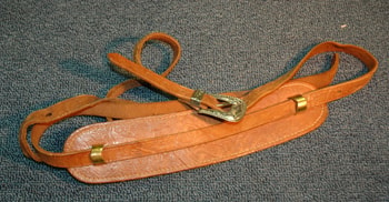 1960 Gibson Tooled Leather Strap