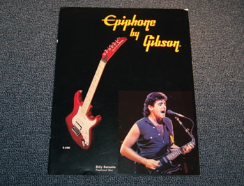 1986 Epiphone Epiphone by Gibson Catalog