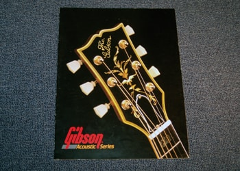 1980 Gibson Gibson Acoustic Series Catalog