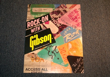1986 Gibson Rock-On with Gibson Advertisement