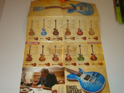 1991 ENGEL Guitar Catalog (Pamphlet)