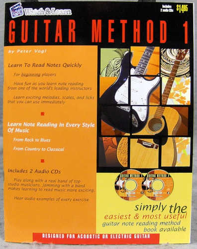 2011 Watch and Learn Guitar Method 1