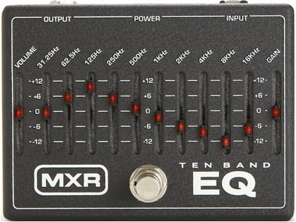 2011 MXR M108 10 Band Graphic EQ