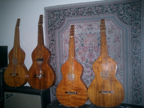 ~1920 Weissenborn Flames extrordinaire Style 1, 2, 3, 4 and Tear Drop