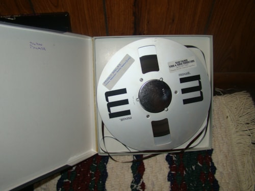 "1995 Maxell Mastering Tape (used) 10""/1/4"""