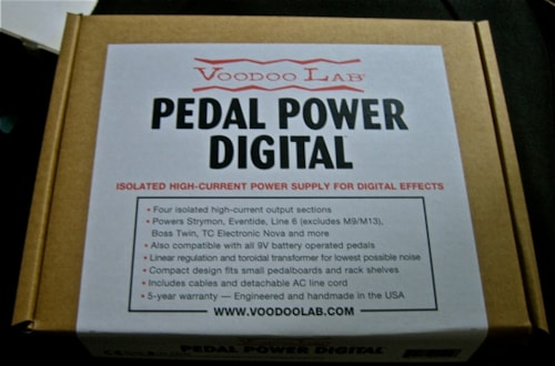 2011 Voodoo Labs Pedal Power Digital