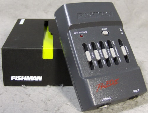 2013 Fishman Pro-EQ II Acoustic Preamp/EQ