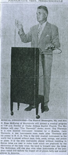 1938 Leon Theremin Soloist Custom