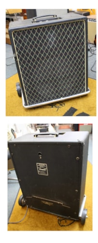 ~1977 Vox V 1241 Kensington Bass Amplifier