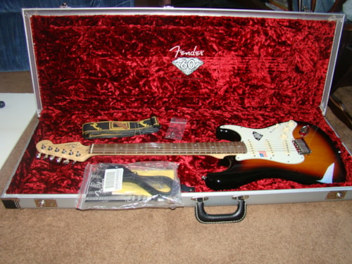 2006 Fender 60th Anniversary Strat (Diamond Inlay)
