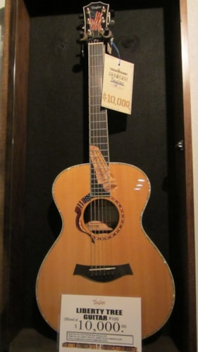 2002 Taylor Liberty Tree Guitar #199