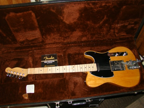 Fender® Hipshot Tele/1969 poly refined body