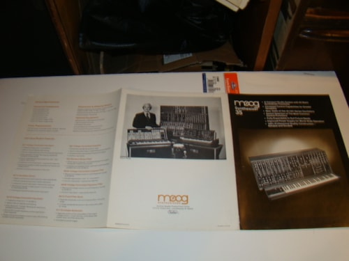1976 Moog Synth 35 Manual