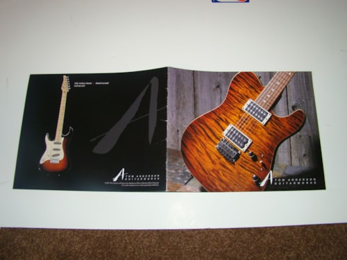 2000 Tom Anderson Catalog