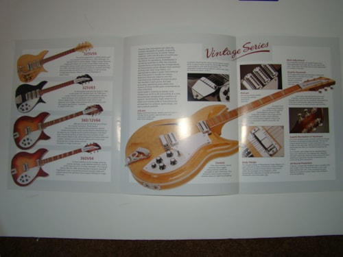 1993 Rickenbacker Vintage Series Catalog
