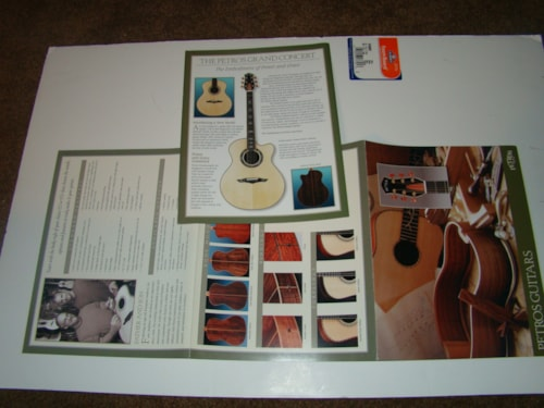 2000 Petros Guitar Catalog
